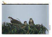 Mother Osprey Watchful Eye  Carry-all Pouch