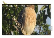 Watchful Eyes - Red Shouldered Hawk Carry-all Pouch