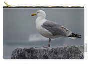 Watchful Seagull Carry-all Pouch