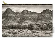 Watchman Trail In Sepia - Zion Carry-all Pouch