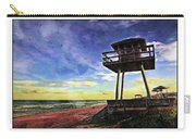 Watchtower On The Beach Carry-all Pouch