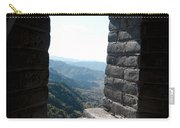 Watchtower Window View From The Great Wall 637 Carry-all Pouch