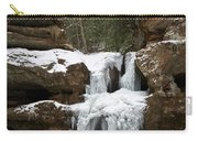 Water And Ice Flow Carry-all Pouch