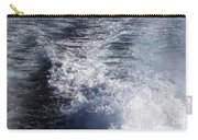 Water Behind A Ship Carry-all Pouch