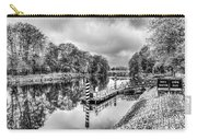 Water Bus Stop Bute Park Cardiff Mono Carry-all Pouch