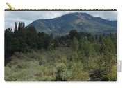 Water-carved Base Rock And Mt Baldy Carry-all Pouch
