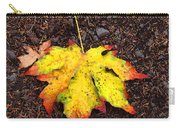 Water Colored Leaf - Autumn Carry-all Pouch