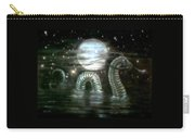 Water Dragon And Moon Carry-all Pouch