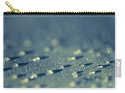 Water Droplets Close-up View On Plastic Chair Carry-all Pouch