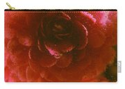 Water Droplets Beautiful Flowers Carry-all Pouch