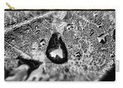 Water Droplets On A Sheet Carry-all Pouch