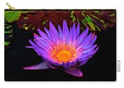 Water Droplets On Lily Carry-all Pouch