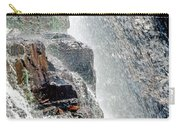 Water Fall Off Mt. Wilson Colorado Carry-all Pouch