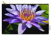Water Flower Carry-all Pouch by Nick Zelinsky