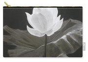 Water Flower Carry-all Pouch
