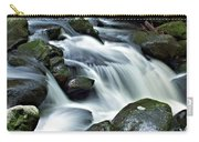 Water Flowsthrough The Mountains Carry-all Pouch