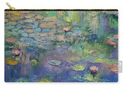 Water Garden Carry-all Pouch by Michael Creese