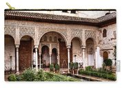 Water Gardens Of The Palace Of Generalife Carry-all Pouch