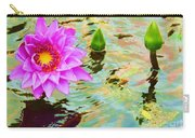 Water Lilies 002 Carry-all Pouch