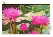 Water Lilies 009 Carry-all Pouch
