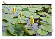 Water Lilies Aligned Carry-all Pouch