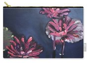 Water Lilies At Sunset Carry-all Pouch
