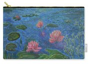 Water Lilies Lounge 2 Carry-all Pouch by Felicia Tica