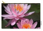 Water Lilies Love The Sun Carry-all Pouch by Sabrina L Ryan