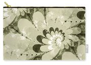 Water Lilies Spirals Carry-all Pouch