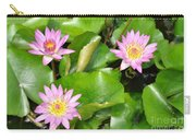 Water Lilies 3 Carry-all Pouch