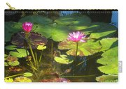 Water Lilly Garden Carry-all Pouch