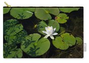 Water Lily Carry-all Pouch