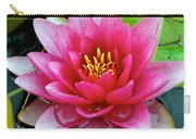 Water Lilly Carry-all Pouch by Frozen in Time Fine Art Photography