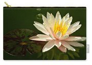Water Lily And Pad Carry-all Pouch
