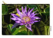 Water Lily Bloom Carry-all Pouch