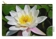 Water Lily Blossom Carry-all Pouch