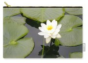 Water Lily I I Carry-all Pouch