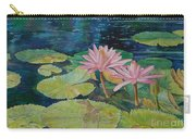 Water Lily In The Morning Carry-all Pouch