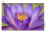 Water Lily Lindsey Woods Macro Carry-all Pouch