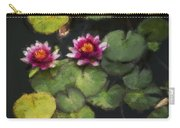 Water Lily Neo Carry-all Pouch
