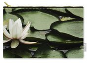 Water Lily Pad Carry-all Pouch