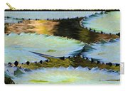 Water Lily Pads In The Morning Light Carry-all Pouch