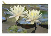 Water Lily Pair Carry-all Pouch