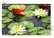 Water Lily Pond In Autumn Carry-all Pouch