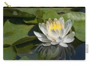 Water Lily Reflection Carry-all Pouch