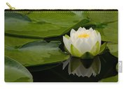 Water Lily Reflection II Carry-all Pouch
