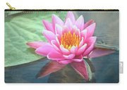 Water Lily Carry-all Pouch by Sandi OReilly