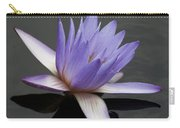 Water Lily Teri Dunn Carry-all Pouch