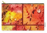 Water On Color Collage Eight Carry-all Pouch