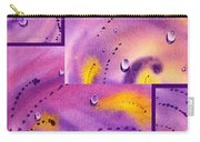 Water On Color Collage Five Carry-all Pouch